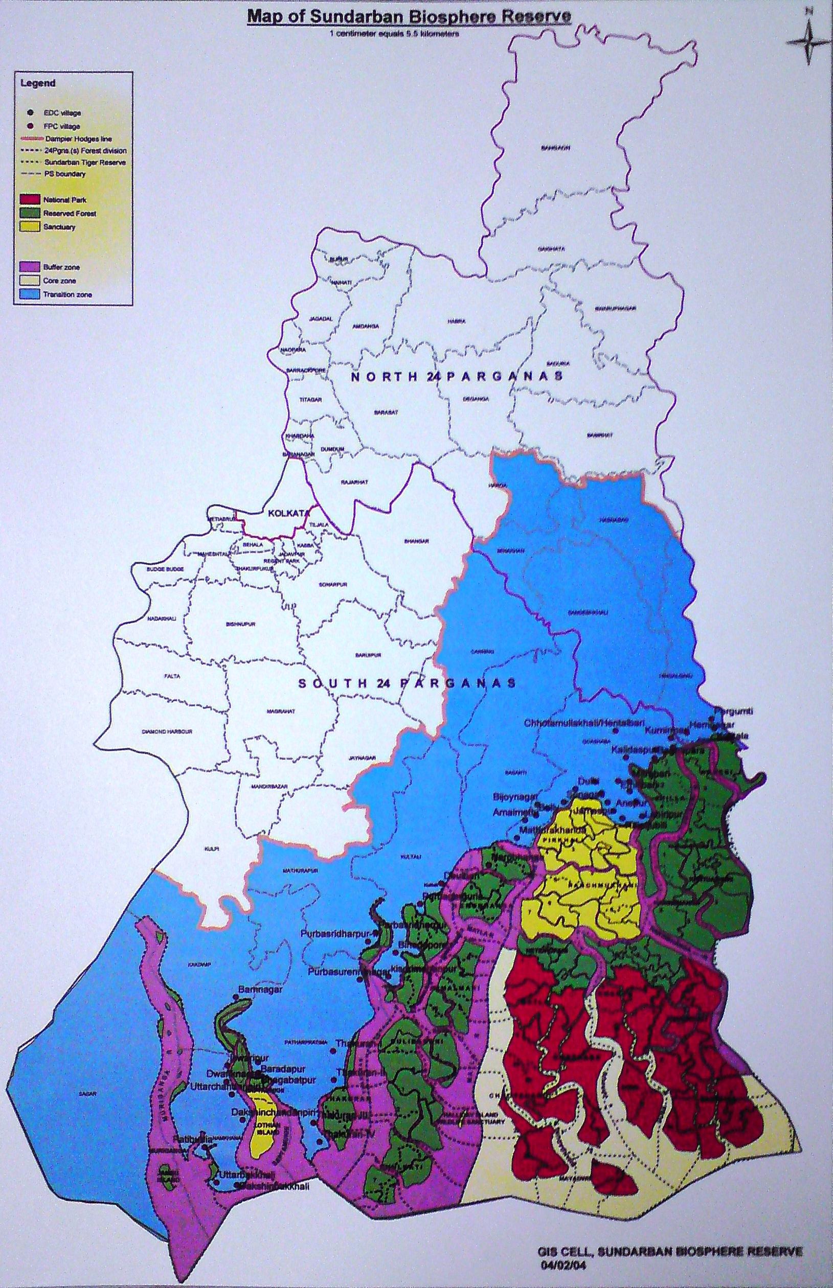 Sundarban Maps – Forum For Social Justice And Development